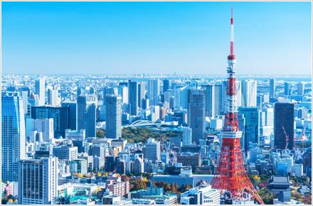 東京の町並み